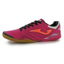 Joma Super Flex Indoor Football Futsal Trainers Mens Pink/Coral Soccer Sneakers