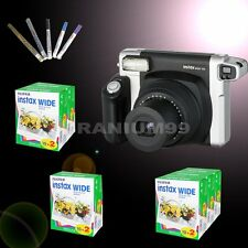 Fujifilm Instax Instant Camera 300 Wide Fuji Photo Picture with Film and Pen