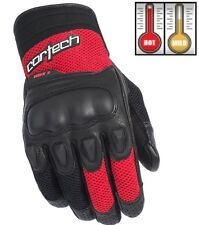 Cortech HDX 3 Red/Black Motorcycle Gloves - Men's XS-3XL