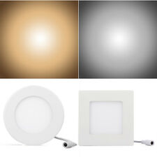 9W LED 2835 SMD Recessed Ceiling Panel Downlight Bulb Lamp Warm / White Lighting