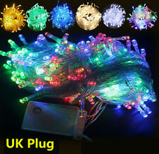 200/300/400/500 Mains LED String Fairy Lights Indoor/Outdoor Xmas Christmas HT