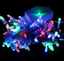 200 LED String Fairy Lights 20M UK Plug Garden Wedding Party Christmas HT