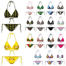 Bikini Set Swimwear Batman Hempleaf  Women Beachwear Bra  Bathing Suit  Swimsuit