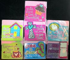 Cherished Girl Kerusso Christian Magnet Bible Verse Fridge, Locker, Cubicle NEW