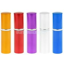10ml Mini Refillable Perfume Aftershave Travel Pump Atomizer Glass Bottle Spray