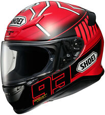Shoei RF-1200 Full-Face Motorcycle Helmet - MARQUEZ 3 TC-1 RED Adult XS-2XL