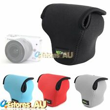 NEOpine Neoprene Durable Soft Protector Case Cover Bag For Canon EOS M10 Camera