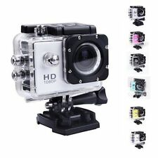 Colorful Waterproof Sports DV Video Action Camera 1080P Digital 12MP Camcorder