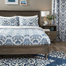 Andrew Charles Paisley Park Collection Damask Duvet Cover Set