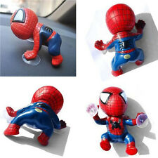 Lot Cool Spider Man Suction Cup Car/Vehicle/Auto Display Dashboard Doll Decor