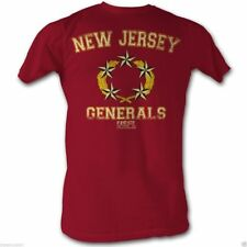 T-Shirts Sizes S-2XL New AuthenticUSFL New Jersey Generals Mens T-Shirt