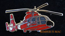 HH-65 DOLPHIN US COAST GUARD HAT PIN HELICOPTER GUARDIAN COSTNER MOVIE HELO GIFT
