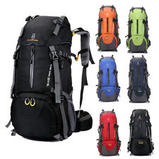 60L Waterproof Outdoor Camping Hiking Bag Backpack Rucksack Travel Day Pack NEW