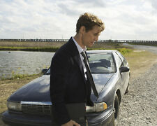 True Detective Matthew Mcconaughey in Profile by Car Classic Poster or Photo