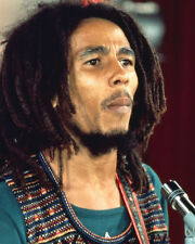 Bob Marley Reggae Legend Iconic Color Image Poster or Photo