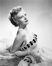 Deborah Kerr Classic Glamour Pose in off Shoulder Dress 1950 Poster or Photo
