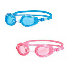 ZOGGS LITTLE RIPPER JUNIOR KIDS SWIMMING GOGGLES - PINK OR BLUE - SILICONE SEAL