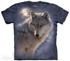Adventure Wolf The Mountain Adult Size T-Shirt