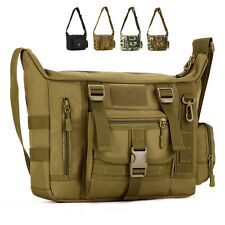 Men Nylon Messenger Shoulder Bag Military Tactical Camping Briefcase Laptop Pack