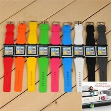 Wrist Strap Silicone Case Cover Watch Band For Apple iPod Nano 6 6th Gen + Gift