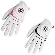 FOOTJOY WOMENS WEATHERSOF LEFT HAND GOLF GLOVES - NEW COLOURS LEATHER FJ LOGO