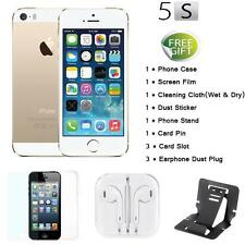 "Apple Smart Phone iPhone 5S 4G LTE 3G WCDMA Factory Unlocked 4"" 32GB/16GB J4L8"