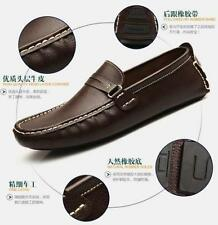 Fashion comfort Mens Leather Casual Slip On Loafer Moccasins Driving car Shoes