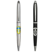 Leeds United AFC Official Football Gift Boxed Chrome Ballpoint Pen