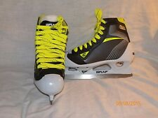 New Graf G5035 goaler Junior Ice hockey goalie skates