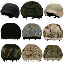 Military Airsoft Hunting Camo Helmet Cover for M88 Helmet - 7 Camouflage Colors