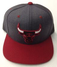 NBA Chicago Bulls Mitchell and Ness 2-Tone Fitted Cap Hat M&N NEW!