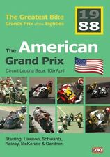 Greatest Bike Grands Prix of the Eighties - American GP 1988 (New DVD) Motogp