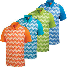 Puma Golf 2014 Mens Duo Swing Graphic Tech Polo Shirt CoolCell UV Performance