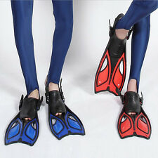 Summer Scuba Diving Swimming Snorkeling Freediving Open Heel Fins Flippers Shoes