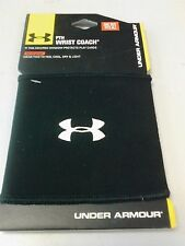 Under Armour QB Wristband Quarterback Velcro Black OSFA New In Package NWT
