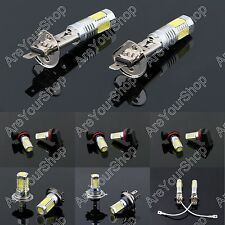 2 x high Brightness Xenon white LED Bulb 7.5W Fog Driving Lights Bulb Lamp 6500K