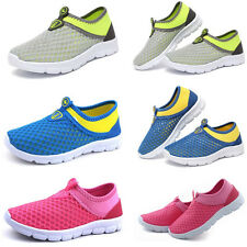 Slip on Sneakers Breathable Childrens Boys Girls Casual Mesh Shoes Soft Bottom