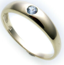 Best price Ladies Ring real gold 333 Topaz 8kt Yellow gold Jeweler quality New