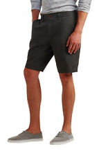 aeropostale mens classicsolid woven flat-front shorts