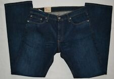 514 LEVIS SLIM STRAIGHT FIT LEG Blue DENIM SITS BELOW WAIST COTTON JEANS MEN