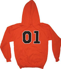 Youth/Adult Mens TV Dukes of Hazzard 01 General Lee Hoodie Hooded Sweatshirt