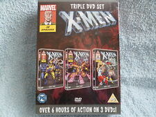 new unopen x men cartoon dvd box set