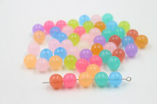 Jelly Color Mixed Acrylic Round Ball Loose Spacer Beads 6/8/10/12mm