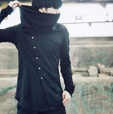 Korean Mens Boys Fashion Tops Collar coat Slim Fit Long Sleeve Street Jacket