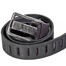New Cowhide Genuine Leather Belt Handmade Embroidery Metal Buckle Calado Ojal