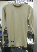 UNDER ARMOUR 5511 SAND OR BLACK TACTICAL LONG SLEEVE SHIRT COLDGEAR VAR SZS NWT