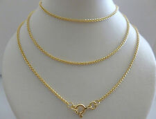 9ct 9k Gold Braided Wheat Rope Chain Necklace Yellow White Rose 1.3mm N76 CUSTOM