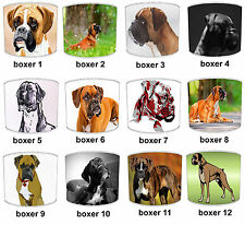 Boxer Dog Print Table Lamp Shades Or Ceiling Light Shades Lampshades Pendants
