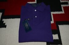 Polo Ralph Lauren 100% Cotton Custom Fit Plain Mesh Shirt