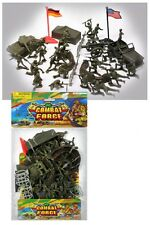 Combat Force 592 Soldier Play Set - For Ages 3 And Up 28 Soldiers, Tent-Tank